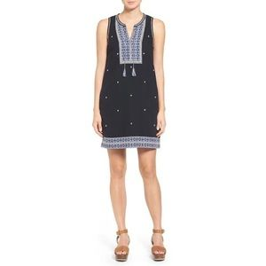 Madewell Suncoast Embroidered Dress | S